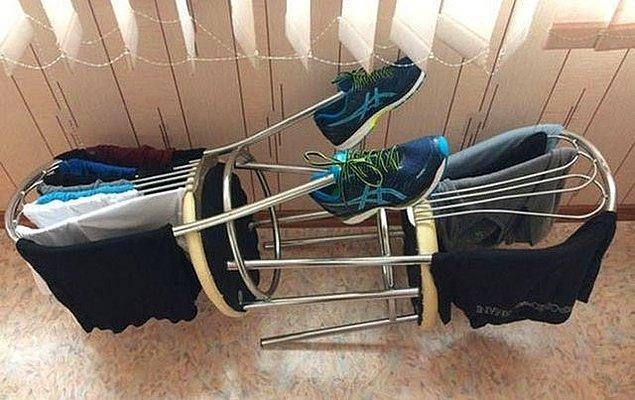 1. Alternatif bir çamaşırlık