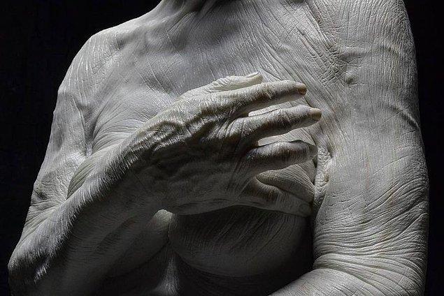 """Yaptığı gerçekçi heykeller ve verdiği büyük çabalara bakılırsa; Jacopo hayallerine giden """"o"""" yolda yürümeye çoktan başlamış."""