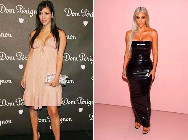 18. Evrimin altına imza atan bir diğer isim: Kim Kardashian!