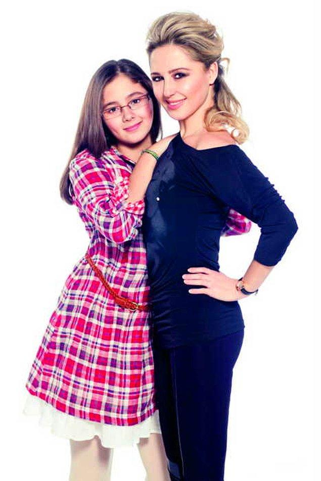 6. Pınar Aylin'in kızı Maya Tokatlıoğlu.