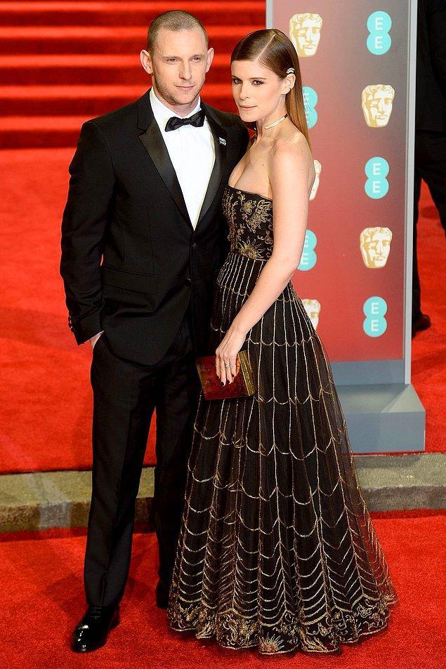 24. Jamie Bell and Kate Mara