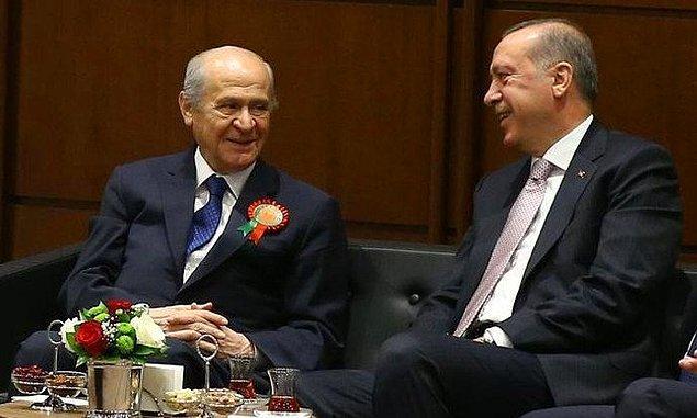Aslında MHP Genel Başkanı Devlet Bahçeli bu ismi daha önce telaffuz etmiş, 2019 için hazırladığı seçim ittifakına 'Cumhur ittifakı' adını vermişti.