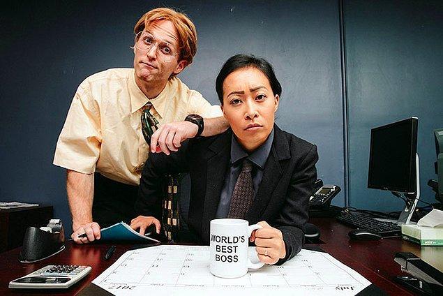 """""""The Office""""den Michael Scott ve Dwight Schrute"""