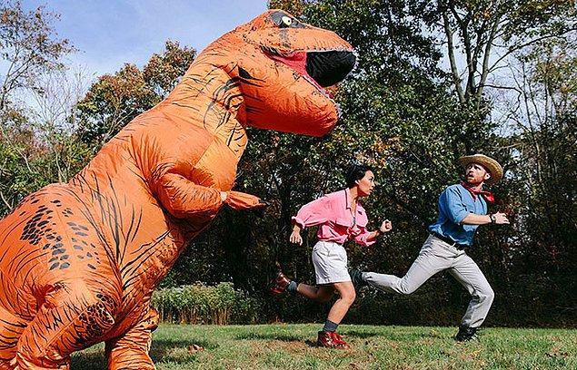 """""""Jurassic Park""""dan Ellie Sattler ve Alan Grant"""