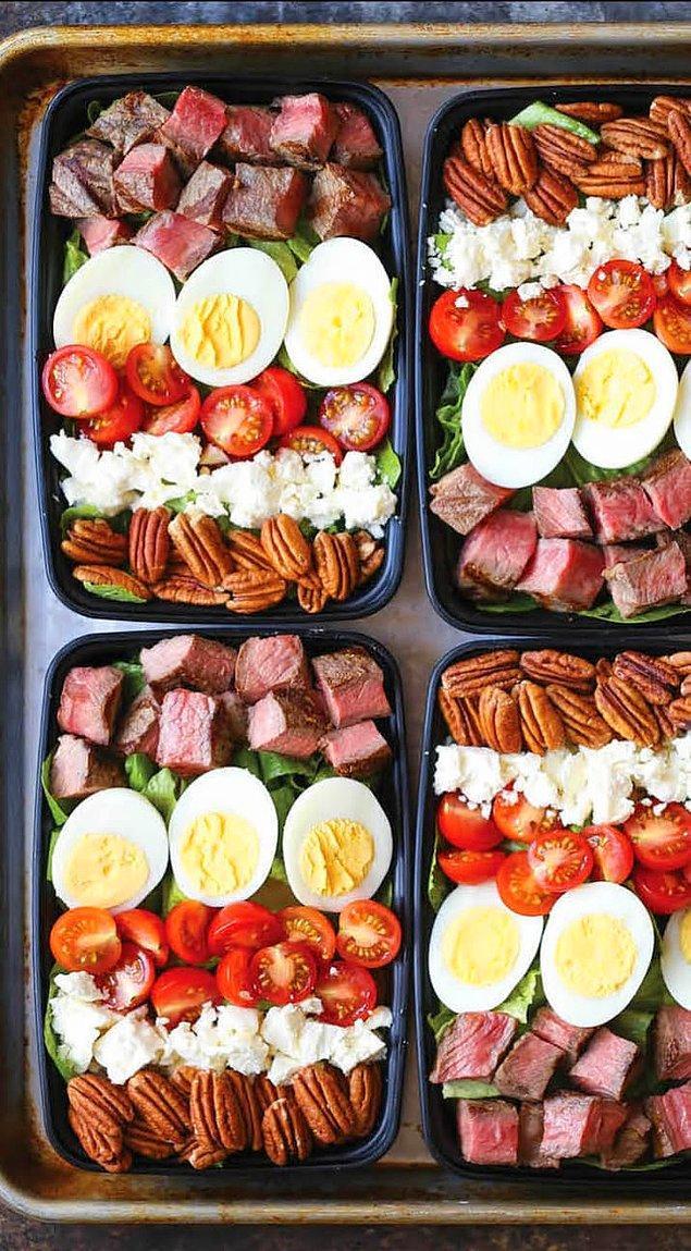 19. Haftanın bir gününü haftalık yemek hazırlamak için ayırın. Böylece her gün ne yapmanız gerektiği derdine düşmezsiniz.