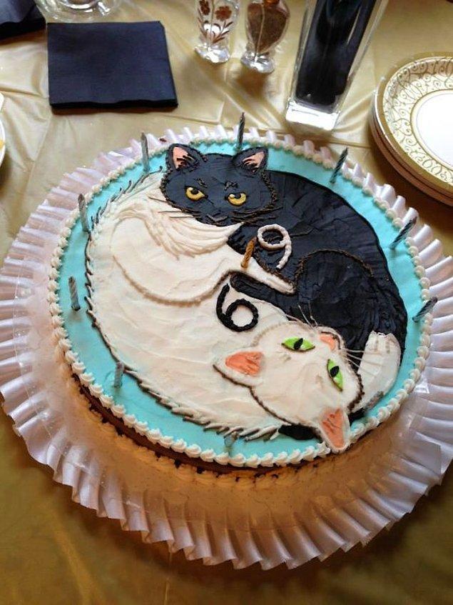 3. 69. doğum gününe efsanevi bir pasta hazırlayan şeker 😅