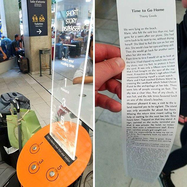 10. Uçakta okumak isterseniz, kısa hikayeniz hazır!
