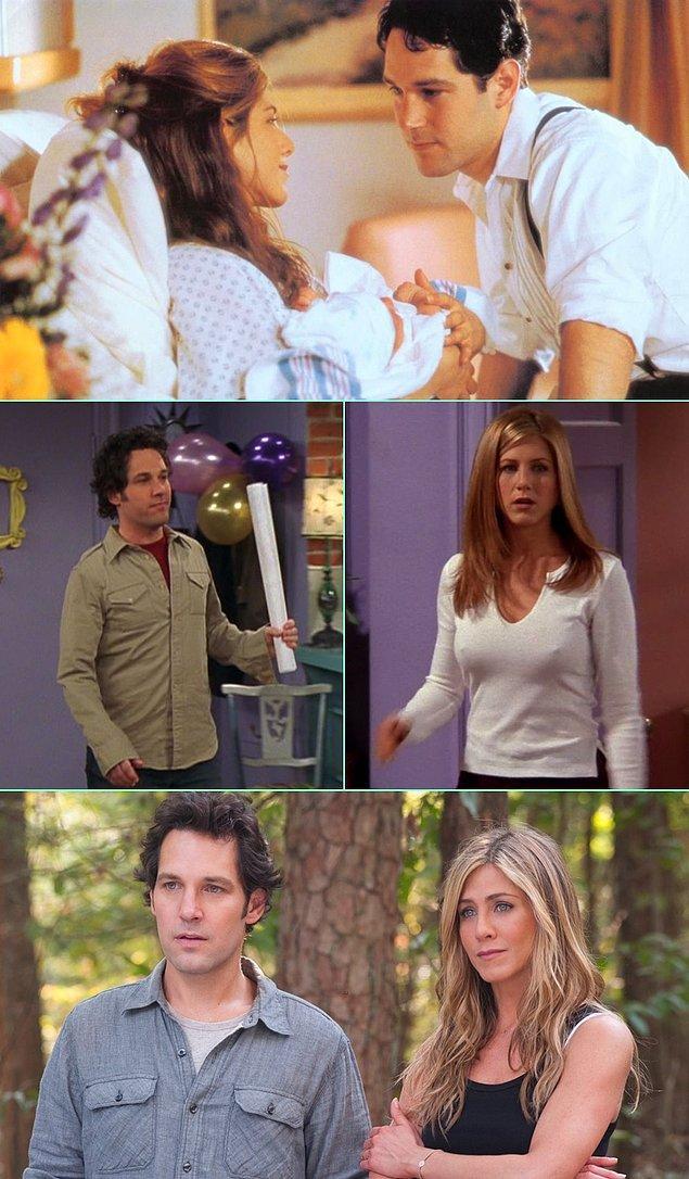 3. Jennifer Aniston & Paul Rudd