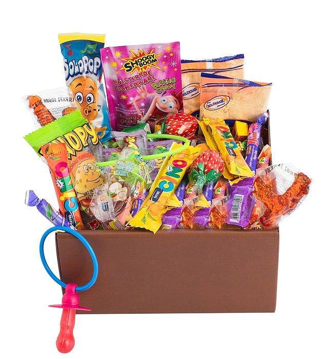 2. O'nun kalbine giden yol midesinden geçiyorsa, bu vintage lezzet kutusuna bayılacak!