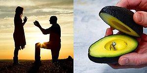 Думаете, как пооригинальнее сделать предложение второй половинке? Почему бы не положить кольцо в… авокадо!