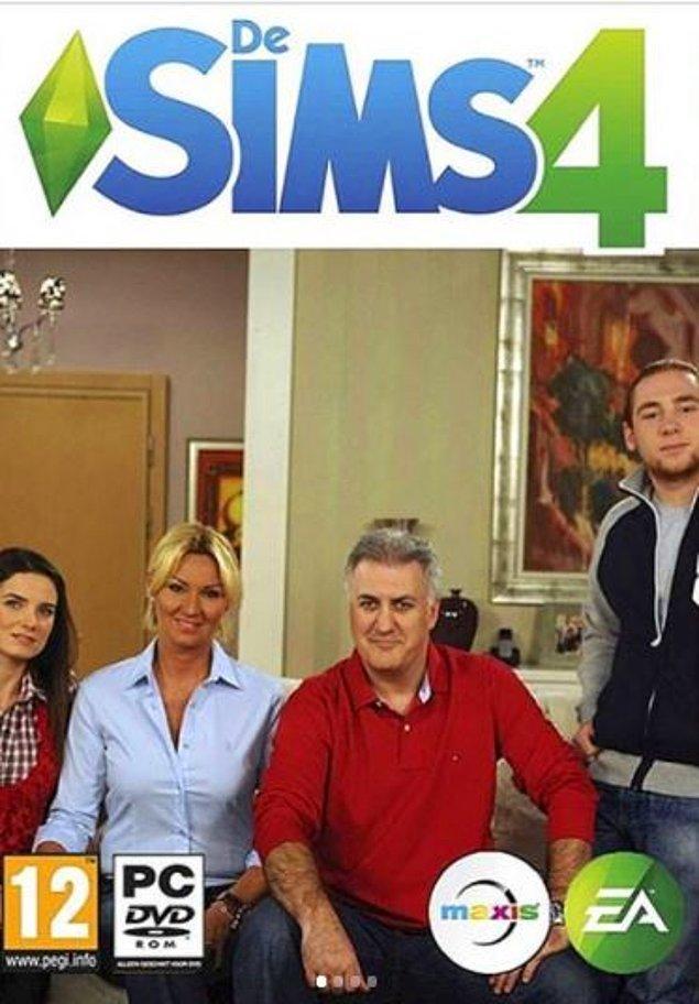 Alternatif Sims oyun kapağı.