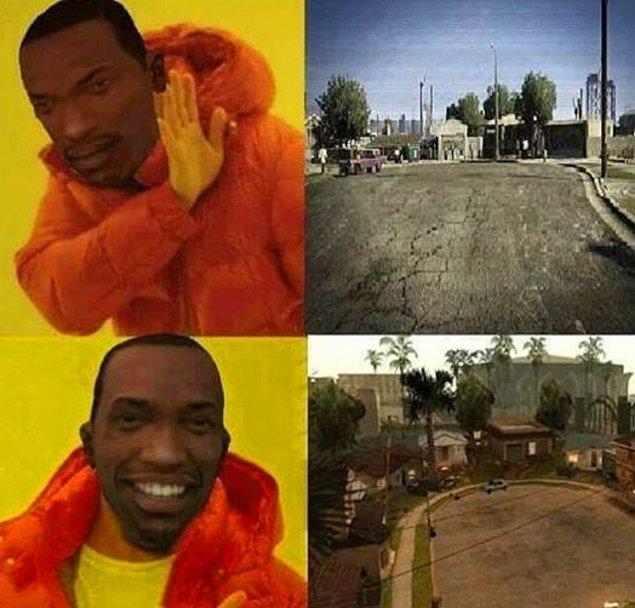 Gerçek Grove Street. :)