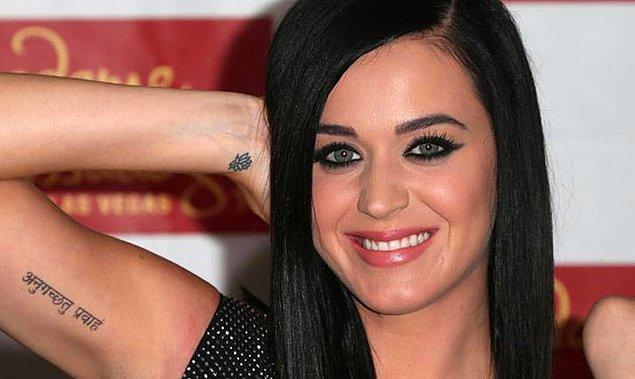 16. Katy Perry'nin kol içi dövmesi: