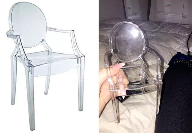 """1. """"Amazon'dan odam için bir sandalye sipariş ettim ve..."""""""