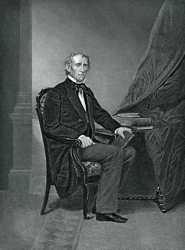 15. 1790 yılında doğan Amerika'nın 10. başkanının hala yaşayan torunları var.