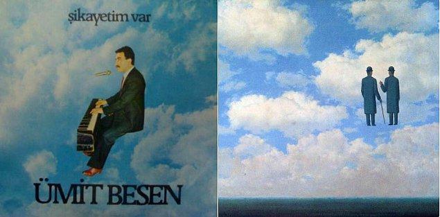 12. Ümit Besen - Rene Magritte tablosu