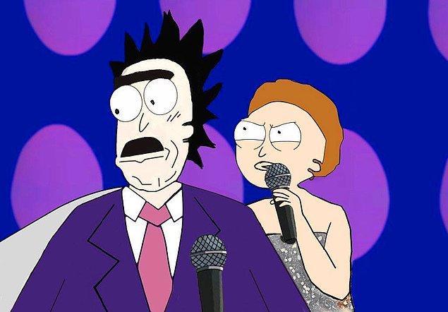 7. Beni kimse pezevenklerin elinden almadı Rick!