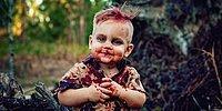 Сеть в шоке от мамы, устроившей зомби-фотосессию с тортом в виде мозга для своего малыша