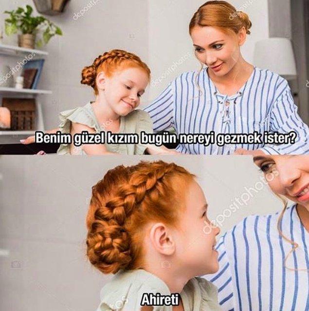 Var mı böyle bir olanak anne? :)