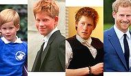 Трансформация принца Гарри: фото, по которым видно, как менялся младший наследник английской короны