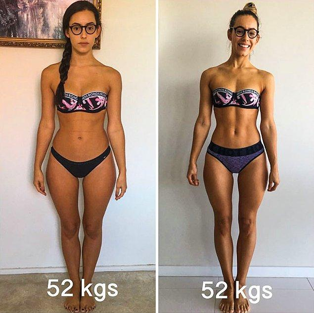 70 кг могут выглядеть ПО-РАЗНОМУ картинки
