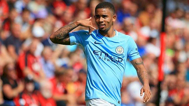 5. Gabriel Jesus - [Manchester City]