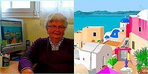 Альтернатива огороду: 87-летняя испанка рисует шедевральные картины в самом обычном MS Paint