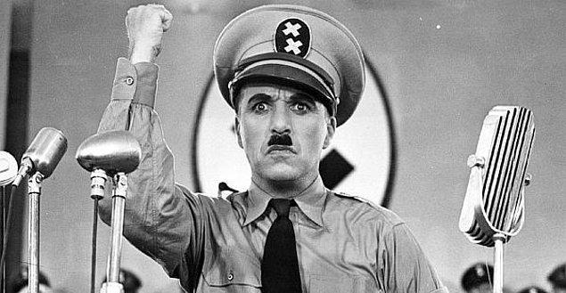 5. The Great Dictator-Şarlo Diktatör (1940)   IMDb 8.5