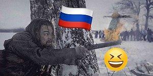 14 фотожаб о том, что было бы, если бы герои зарубежных фильмов переместились в Россию