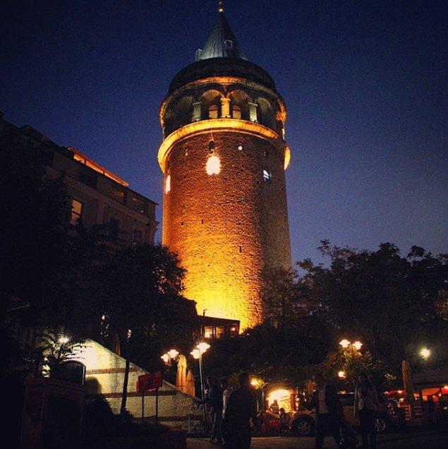 8. Galata Kulesi