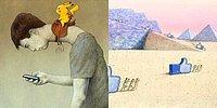 Вы не сможете оторваться от этих сатирических иллюстраций Павла Кучинского, рассказывающих о проблемах современного общества