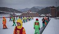 """17 фотографий первого """"роскошного"""" горнолыжного курорта Северной Кореи"""
