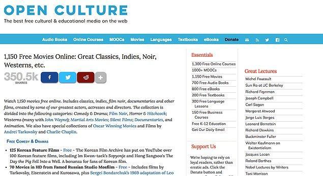 6. Open Culture