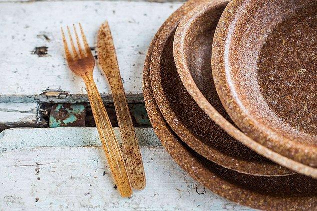 Buğdaydan müteşekkil mutfak gereçleri üreterek plastiği hayatımızdan çıkarmayı hedefliyorlar.