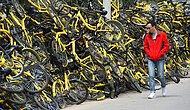 24 фото со свалок брошенных велосипедов в Китае, которые поражают своими масштабами