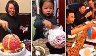 Новый тренд в Японии: торт на день рождения... с сюрпризом 😲