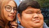 Такая странная любовь: 120-килограммовый таец и девушка весом в 44 кг счастливы вместе