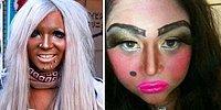 Боевая раскраска: фото девушек, которые совершенно не умеют делать макияж