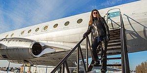Истинное доказательство того, что любовь русской женщины способна подарить вторую жизнь даже списанному самолету