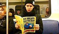Пранк: очень странные книги в метро Санкт-Петербурга