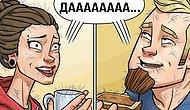 10 комиксов о ежедневных проблемах женатой пары с крутыми сюрреалистическими поворотами