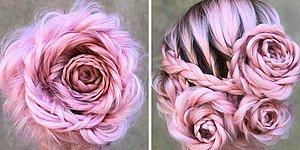 """Все одержимы самой романтичной прической этой весны - """"Плетеная роза из волос""""!"""