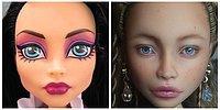 Вы не поверите, во что превращает шаблонные куклы эта украинская художница!