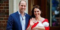 В Сети появились первые фото королевского малыша принца Уильяма и Кейт Миддлтон