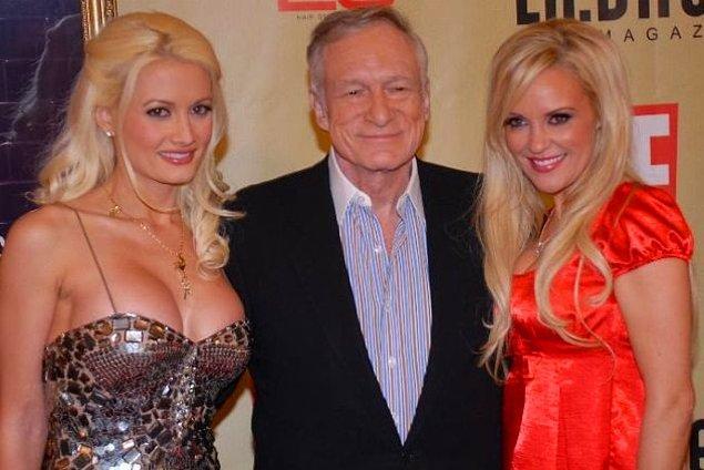 2. Playboy Malikanesinin yaşlı playboyu Hugh Hefner'ın bir kulağı Viagra içmekten sağır olmuştu.