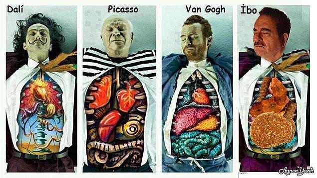 7. Çiğ köfte organlı sanatçımız.