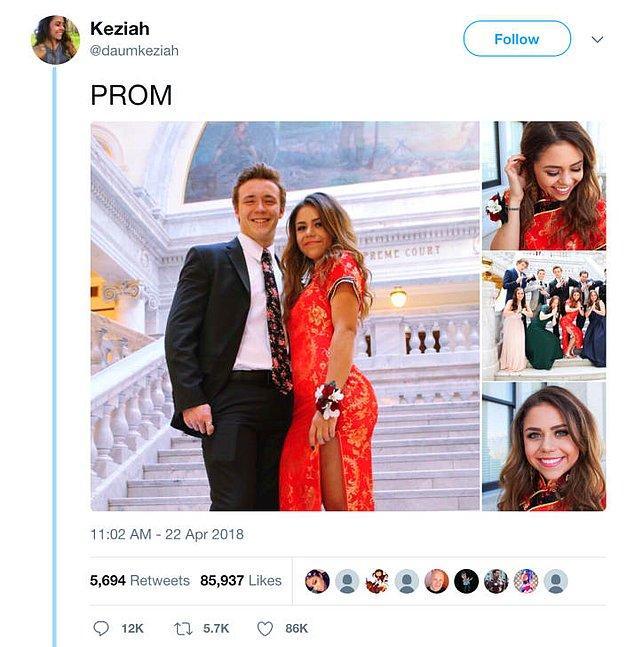 Utah'dan bir genç baloda giydiği qipao ya da Kanton Lehçesi'nde cheongsam diye bilinen geleneksel Çin kıyafetinin fotoğraflarını paylaştıktan sonra internette tartışmalara yol açtı.