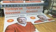 Afişler Hazırlandı: 'Türkiye'ye Güvence Muharrem İnce'