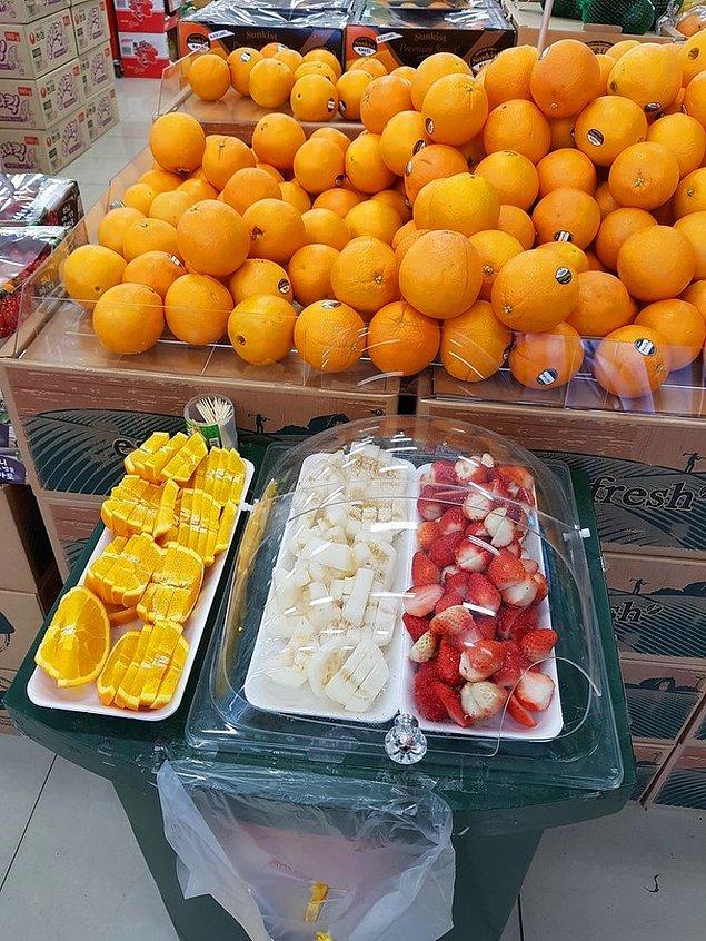 3. Kore süpermarketlerinde hemen hemen her yiyeceği tadabilirsiniz.