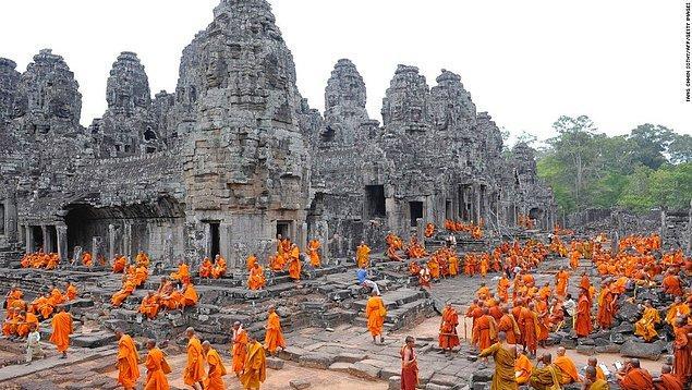 12. Düzensizlikten şikayetçi olanlar için gidilmeyecek ülke: Kamboçya